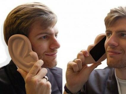 Das witzige iPhone 4/4S Handyhülle als großes Ohr