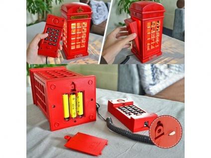 Telefon englische Telefonzelle