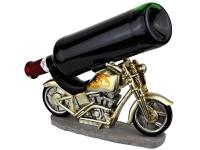 Motorrad Weinflaschenhalter - a bikers dream...
