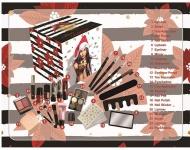 Accentra Kosmetik Adventskalender quadratisch für Teenager Mädchen & Frauen, 24