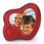 sprechender Herz-Bilderrahmen mit 10 sek Memo