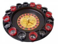 Roulette Trinkspiel Das neue Partyvergnügen + 16 Gläser