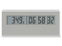 Die Countdown Uhr mit Tage, Stunden, Minuten, Sekunden