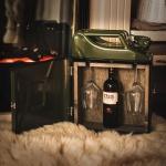 JerryCan Kanister tragbare Weinbar inkl. 2 Weingläser