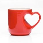 Liebestasse - die Tasse mit dem HERZ auf dem rechten Fleck