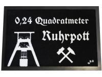 Fußmatte 0, 24 qm Ruhrpott