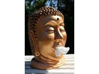 Buddha Taschentuchspender Bronze