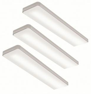 LED 3er Unterbauleuchte Küche 3x6 W Unterbaulampe Lichtfarbe regelbar *567645