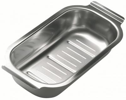 Restebecken Edelstahl für Küchenspüle Line Resteschale Abtropfbecken *1062602