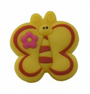 Kindermöbelknopf Schmetterling Möbelknopf Möbelgriff Schrankknopf Kinderzimmer