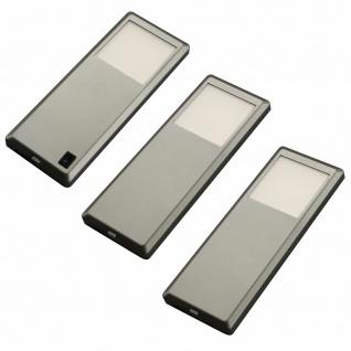 LED Unterbauleuchte Küche 3x3 W Unterbaulampe Schrank Pinto neutralweiß *537587