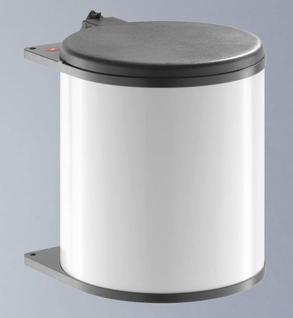 Hailo Big Box Mülleimer Küche Kosmetikeimer 15 Liter Ausschwenkautomatik *43715
