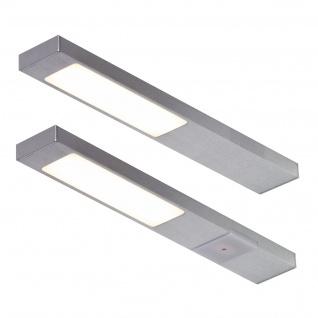 2-er Set LED Küchen Unterbauleuchte je 2, 2 W Lampenset NEOPLAN warmweiss *551682
