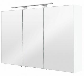 Großer Badezimmer LED Spiegelschrank 110 cm Badspiegel beleuchtet EEK A+ *5439