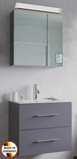 Waschplatz Homeline 60 cm LED Spiegelschrank Waschtisch Gäste Bad Badset klein