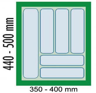 Dirks 45 cm Schrank Schubladen-/Besteckeinsatz Besteckkasten kürzbar *41923