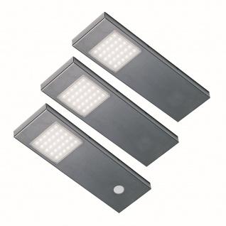 LED 3-er Set Küchen Unterbauleuchte TADEO dimmbar 3 x 2, 64 W Konverter *555628