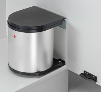 Wesco Küchen Mülleimer Kosmetikeimer 13L Einbau 40 cm Schrank Abfalleimer *40678