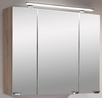 Badezimmer LED Spiegelschrank 80 cm Badspiegel Stecker-Schalter- Box *5681-14