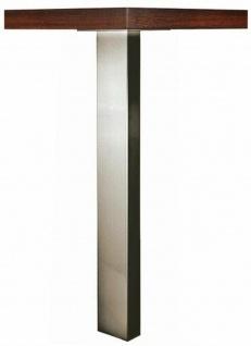 Tischbein Metall 71 cm höhenverstellbar Möbelbein Stützfuß max 150 Kg *524815