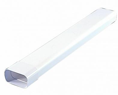 Flachkanal 150x70 mm Abzugshaube Küchenabzug Abluft-Rohr 50 cm mit Muffe *526840