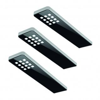 3-er Set LED Unterbauleuchte 5 W Neutralweiss Konverter Sensor Dimmer *555048