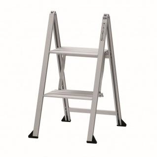 Klapptritt VIKINGSTEP® MINI S Klappleiter 2 Tritt Stufen Alu max 150 kg *559138