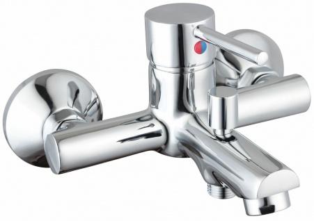 Badewannen Armatur SIGNA Einhandmischer Wasserhahn Chrom Wannenfüllarmatur *8911 - Vorschau 1