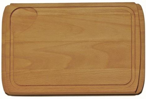 Schneidebrett Holzbrett Buche massiv Spülenauflage Alveus Spülenzubehör *1016018