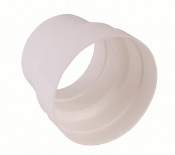 Reduzierstück Rundrohr Ø 125 mm auf Ø 100 mm Lüftungsrohr Abluft Küche *50170