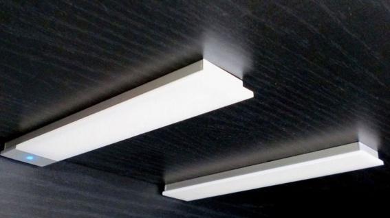 2-er Set LED Einbau Unterbau Küchenleuchte 2 x 3, 4 W dimmbar Sensor Licht *30580
