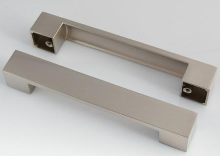 Möbelgriffe BA 128 mm Schrankgriffe Edelstahloptik Küchengriffe Türgriff *625-07 - Vorschau 2