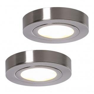 LED 2-er Set ALEXA Küchen Schrank Aufbauleuchte Unterbau Strahler Spot *552078
