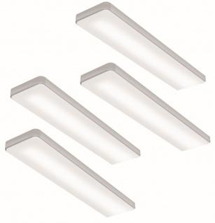 "4-er LED Set Küchen Unterbauleuchte "" KEY-SCREEN"" 4 x 6 W Neutralweiss *555147"
