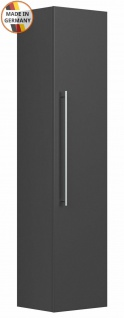 Badezimmer Hochschrank Homeline Badschrank 35x150 cm Seitenschrank anthrazit