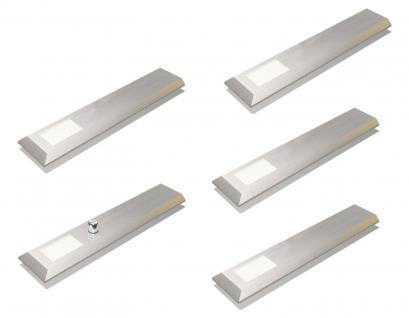 LED Licht Unterbau-/Küchenleuchte dimmbar 5-er Set warmweiss Leuchtenset *539444