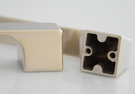 Küchengriff BA 128 & 160 mm Möbelgriff Schrankgriff Edelstahl Optik Türgriff*636 - Vorschau 5