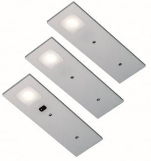 LED Set Unterbauleuchte Küche COYO 3 x 3, 5W Neutralweiß Konverter Sensor *555352