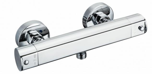 Thermostat Duscharmatur Einhandmischer Eco-Stopp-Funktion Sicherheitssperre 0493