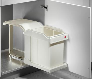 Hailo Solo Swing Abfall Mülleimer Küche 20 Liter Kosmetikeimer Handauszug *43632
