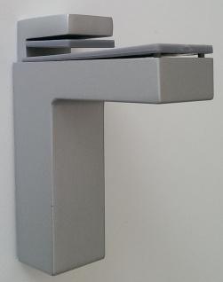 Regalbodenhalter Bodenträger Wandhalter massiv 8-50 mm Chrom matt Halter *506-08
