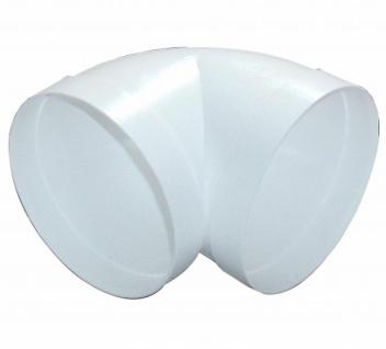Rundrohrbogen 90° Ø 150 mm 90 Grad Bogen Rundrohr mit Muffen Abluft-Bogen *50092