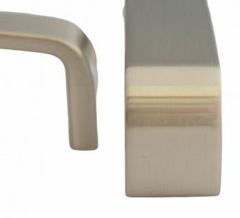 Küchengriffe BA 128 mm Möbelgriff Schrankgriff Griffe Küche Edelstahl Optik *612 - Vorschau 4