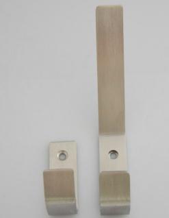 Kleiderhaken Garderobenhaken Edelstahl Wandhaken Mantelhaken Aufhänger *510 - Vorschau 2