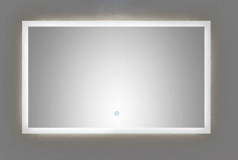 LED Badezimmer Spiegel EMOTION 100 x 60 cm Touch Bedienung 34 Watt 4500 K *10060