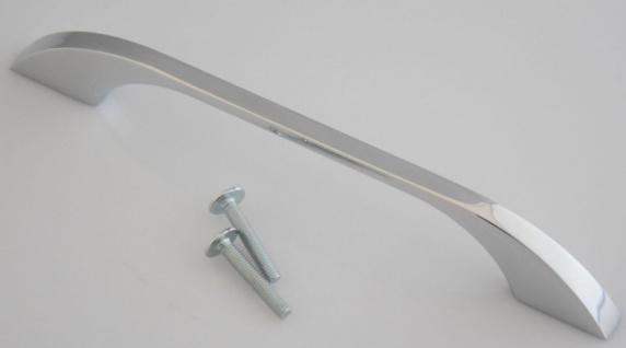 Bogen Möbelgriff BA 128 mm Bügel Schrank Tür Kommoden Küchengriff Verchromt *654