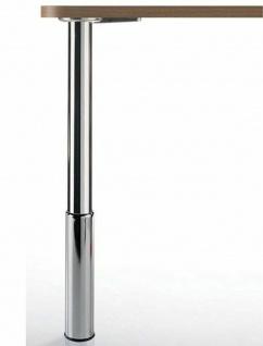 Tischbein Metall 91, 5-109, 5 cm höhenverstellbar Stützfuß max 150 Kg *Studio100