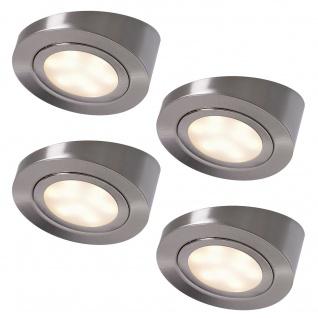 LED 4-er Set Unterbauleuchte Küche Schrägstrahler ALEXA Küchenlampe Spot *552146