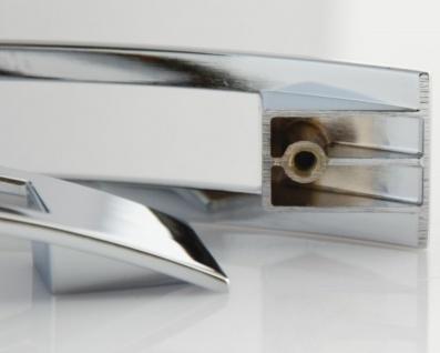 Schrankgriffe Möbelgriffe Spangengriffe BA 128 mm Verchromt Bogengriffe *645-04 - Vorschau 5