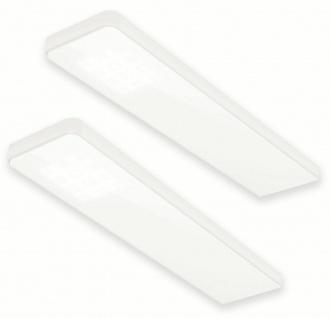 LED 2-er Unterbau Leuchten Set Küche 2 x 5 W Alu Konverter Sensor Dimmer *555062